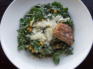 West Kale Salmon Salad