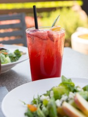 West Strawberry Cucumber Fizz